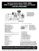 Alamo 2300 / 2800 Large Body Vacuum Pump Service Instructions