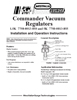 GEA Commander Vac Regulator Manual